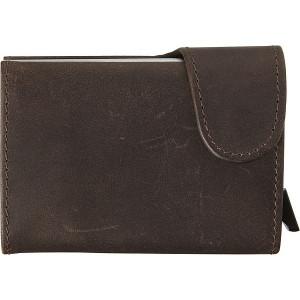 MARASA Kožená peňaženka s ochranným systémom, hnedá