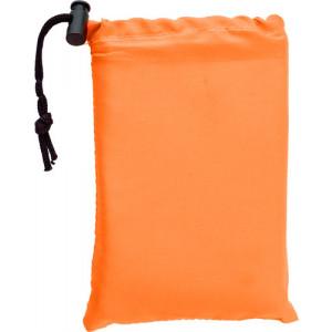 MARTIN skladací podsedák, penová výplň, oranžová