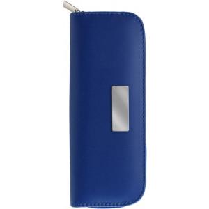 METOD kovové guličkové pero, roller (čierna n.), puzdro, modrá