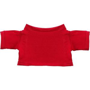 MINITRIČKO bavlnené tričko na plyšové zvieratko 20 cm, červená