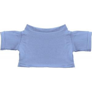 MINITRIČKO bavlnené tričko na plyšové zvieratko 20 cm, modrá