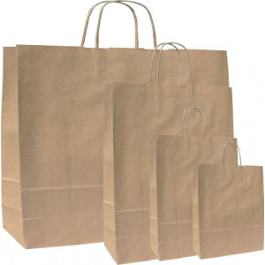 MONKA 18 papierová taška, 18x8x25 cm