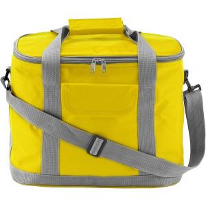 MORELLO nylonová chladiaca taška, žltá