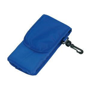 NADINA skladacia nákupná taška s karabínkou, modrá