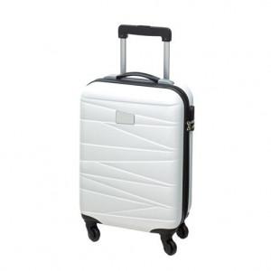 PADUNA cestovný kufor na 4 kolieskach, biela