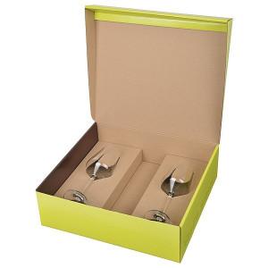 PAPUA krabica s 2 pohármi na biele víno, Vanilla Season