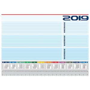 PÍSACIA PODLOŽKA UNIVERZAL 2019, červená