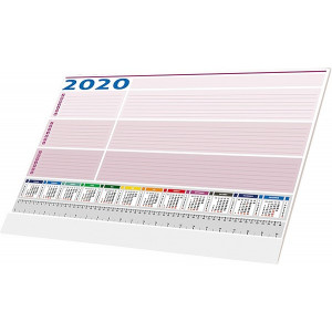 PÍSACIA PODLOŽKA UNIVERZAL 2020, biela