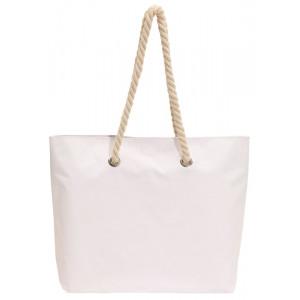 Plážová taška, biela