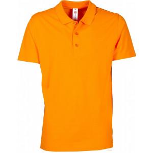Polokošeľa PAYPER ROME oranžová XS