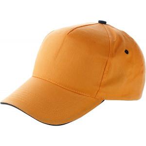 PROGRESA päťpanelová šiltovka, oranžová