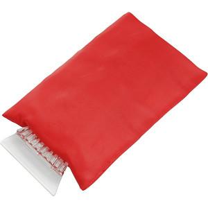 RACLE plastová autoškrabka, rukavica, červená