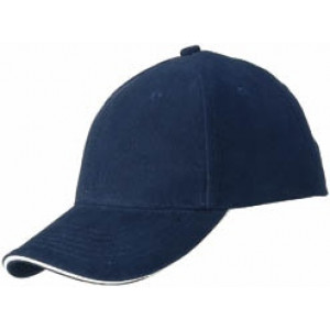 RIDER šesťpanelová šiltovka značkySLAZENGER, námornícka modrá