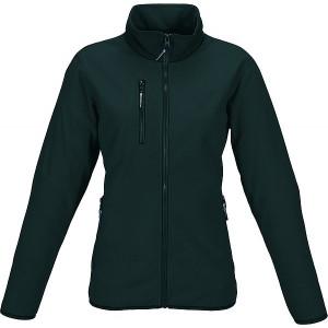 SCHWARZWOLF BESILA fleece/softshell dámska mikina, čierna XL