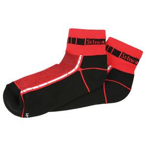 SCHWARZWOLF BIKE ponožky, červená, veľkosť 42-44