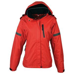 SCHWARZWOLF BONETE prechodná dámska bunda, červená M