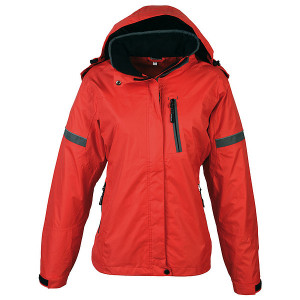 SCHWARZWOLF BONETE prechodná dámska bunda, červená S