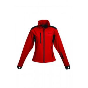 Schwarzwolf breva dámska bunda, logo na hrudi, červená L