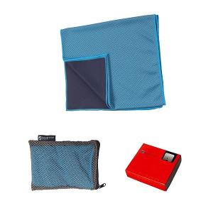 SCHWARZWOLF LANAO outdoorový chladiaci uterák, modrá