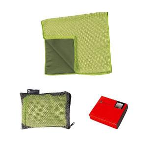 SCHWARZWOLF LANAO outdoorový chladiaci uterák, zelená