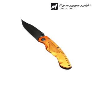 SCHWARZWOLF MATRIX zatvárací nôž, oranžová