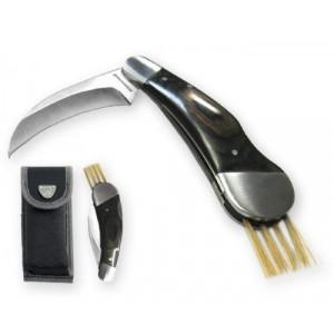 SCHWARZWOLF PILZ kovový hubársky nôž