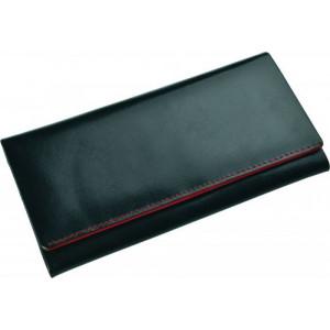SENATA veľká dámska kožená peňaženka, červená