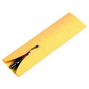 SIMONA papierové puzdro na 1 pero, žltá