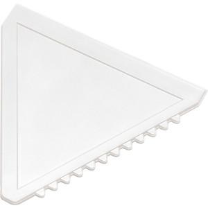 ŠKRABKA trojuholníková plastová autoškrabka, biela