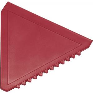 ŠKRABKA trojuholníková plastová autoškrabka, červená