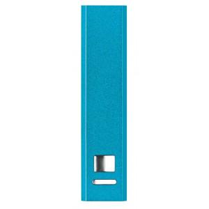 SONATA hliníková powerbanka 2000 mAh, svetlo modrá