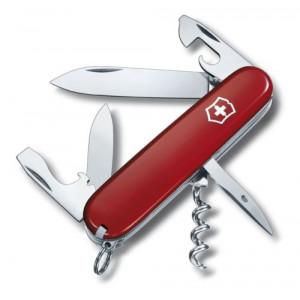 SPARŤAN vreckový nôž značkyVictorinox, 12 funkcií, červená