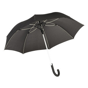 TELAMON automatický dáždnik, čierna/biela