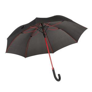 TELAMON automatický dáždnik, čierna/červená