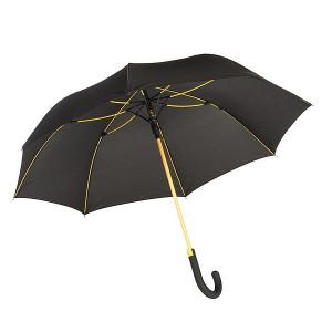 TELAMON automatický dáždnik, čierna/žltá