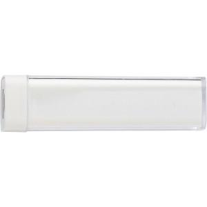 TRAVELO plastové powerbanka 2200 mAh, biela