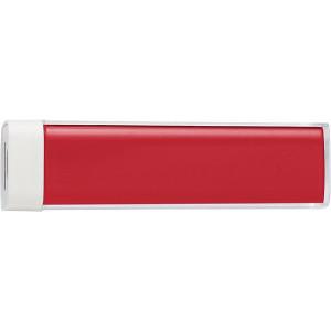 TRAVELO plastové powerbanka 2200 mAh, červená