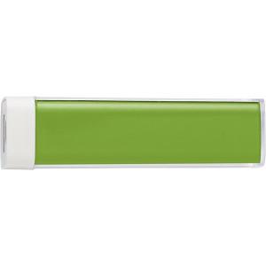 TRAVELO plastové powerbanka 2200 mAh, zelená