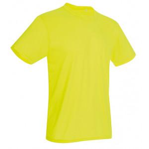 Tričko STEDMAN ACTIVE COTTON TOUCH MEN reflexná žltá S