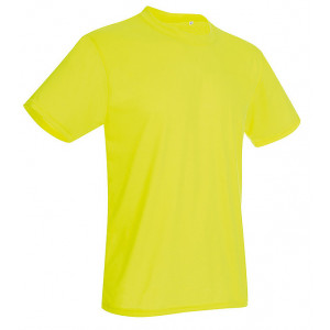 Tričko STEDMAN ACTIVE COTTON TOUCH MEN reflexná žltá XL