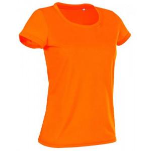 Tričko STEDMAN ACTIVE COTTON TOUCH WOMEN reflexná oranžová L