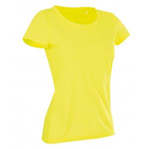Tričko STEDMAN ACTIVE COTTON TOUCH WOMEN reflexná žltá M