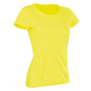 Tričko STEDMAN ACTIVE COTTON TOUCH WOMEN reflexná žltá S