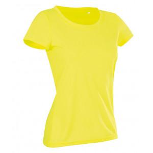 Tričko STEDMAN ACTIVE COTTON TOUCH WOMEN reflexná žltá XL