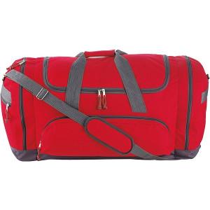 TUVALU športová/cestovná taška, červená