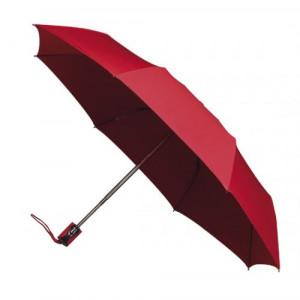 UMBERTO skladací dáždnik systém open-close, červená