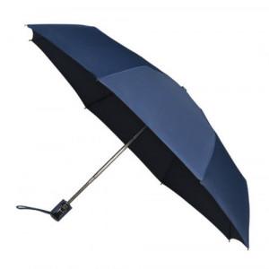 UMBERTO skladací dáždnik systém open-close, tmavo modrá