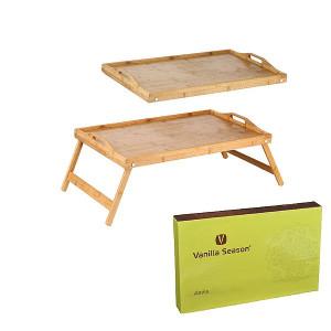 Vanilla Season ABELA Raňajkový stolík do postele, bambus