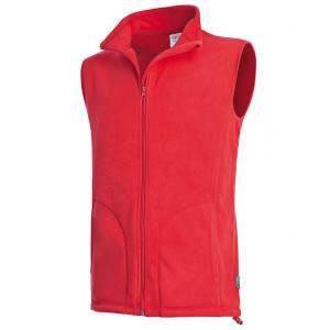 Vesta STEDMAN ACTIVE FLEECE VEST MEN červená XL