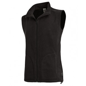 Vesta STEDMAN ACTIVE FLEECE VEST MEN čierna S